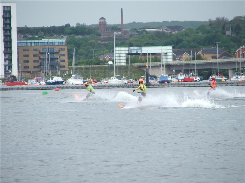 Racing on Cardiff Bay