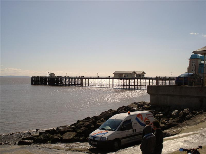 The slipway at Penarth